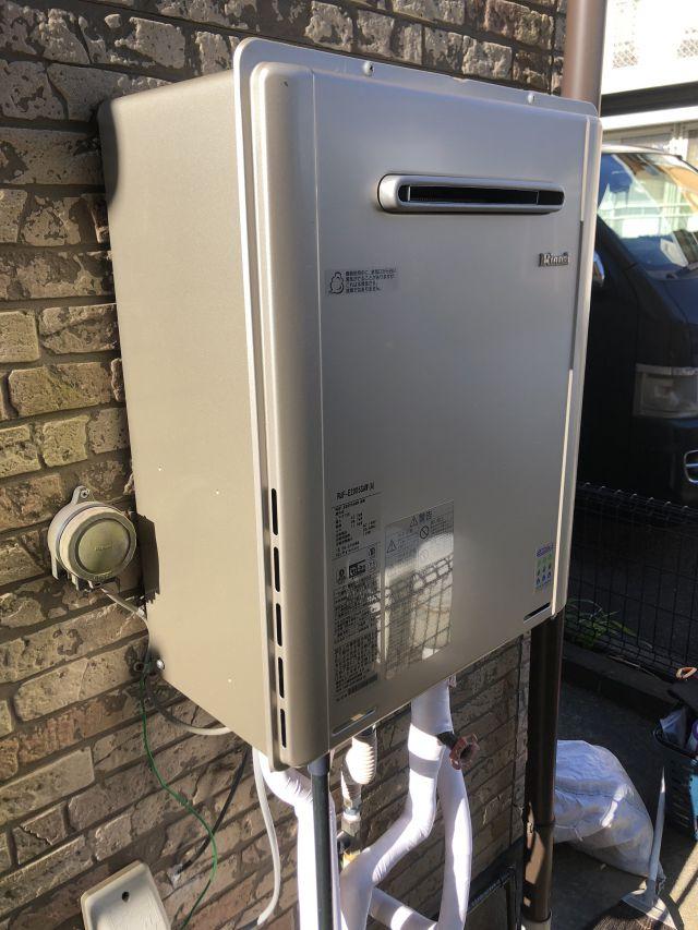 八千代市大和田新田-リンナイ RUF-E2008SAW 給湯器交換