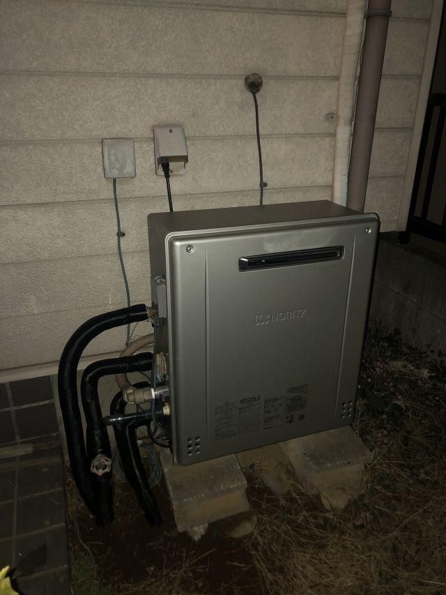 八千代市高津-ノーリツ GT-C2462SARX 給湯器交換