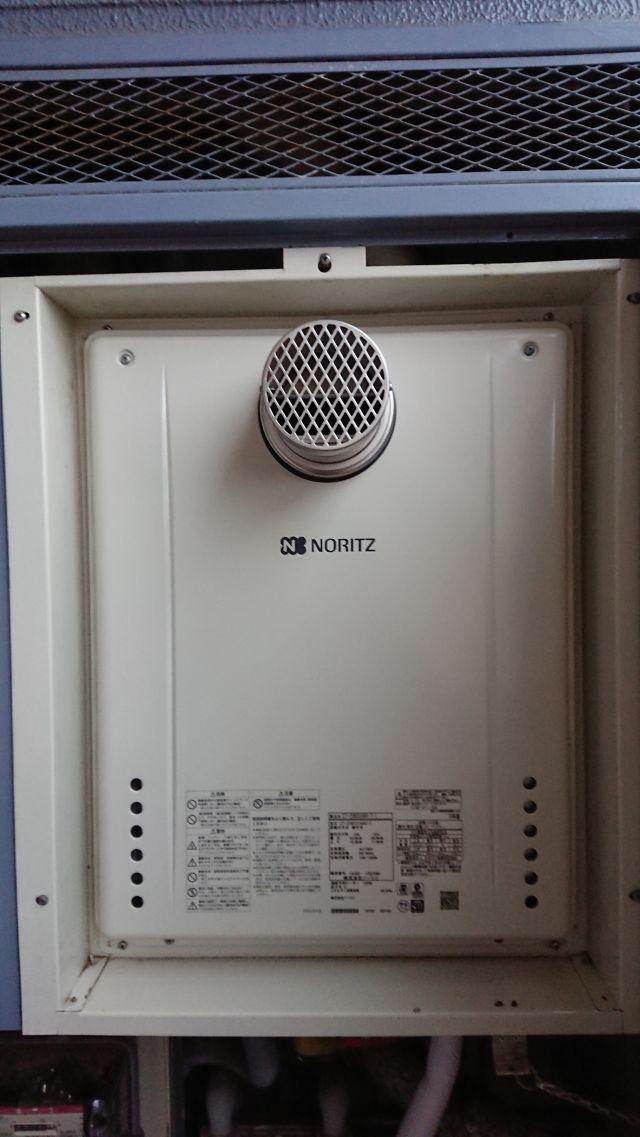 八千代市八千代台北-ノーリツ GT-2060SAWX-T 給湯器交換