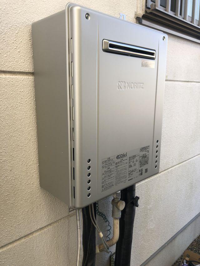 八千代市緑が丘-ノーリツ GT-C2462SAWX 給湯器交換