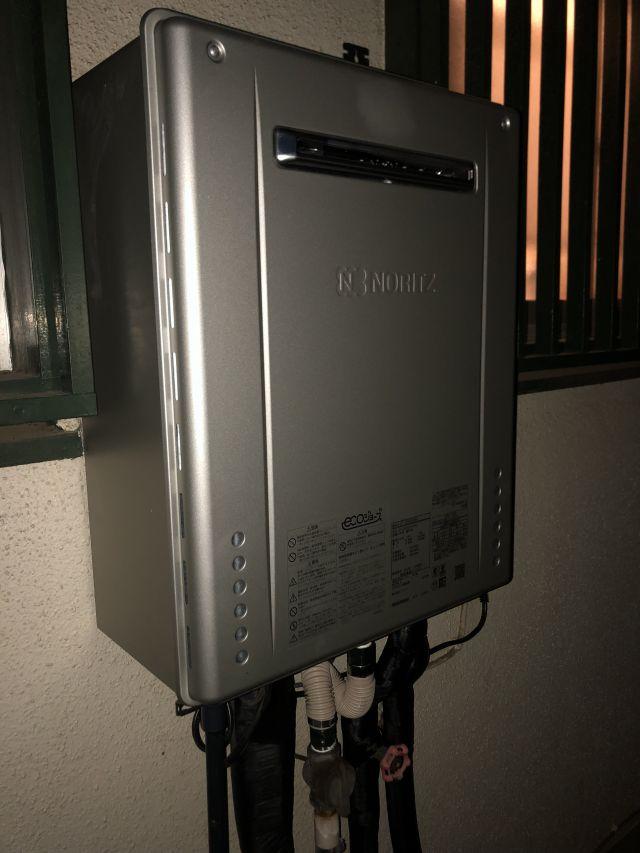 八千代市大和田新田-ノーリツ GT-C2062SAWX BL 給湯器交換