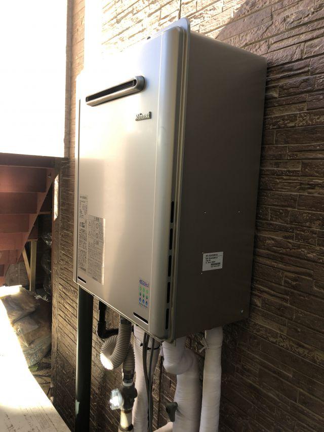八千代市大和田-リンナイ RUF-E2405SAW(A) 給湯器交換