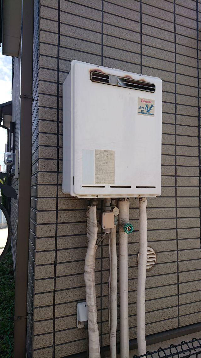 四街道市下志津新田-RUF-V2001AW-施工前 給湯器交換