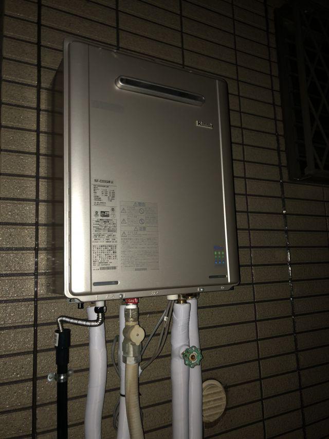 四街道市下志津新田-RUF-E2008SAW(A)-施工後 給湯器交換