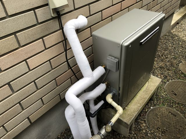 柏市大室-GT-C2062ARX 給湯器交換