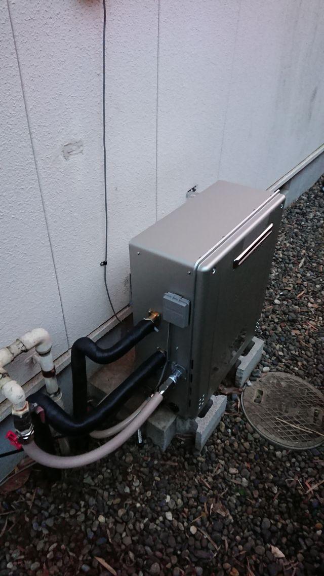 柏市松ヶ丘-GT-C2462SARX 給湯器交換