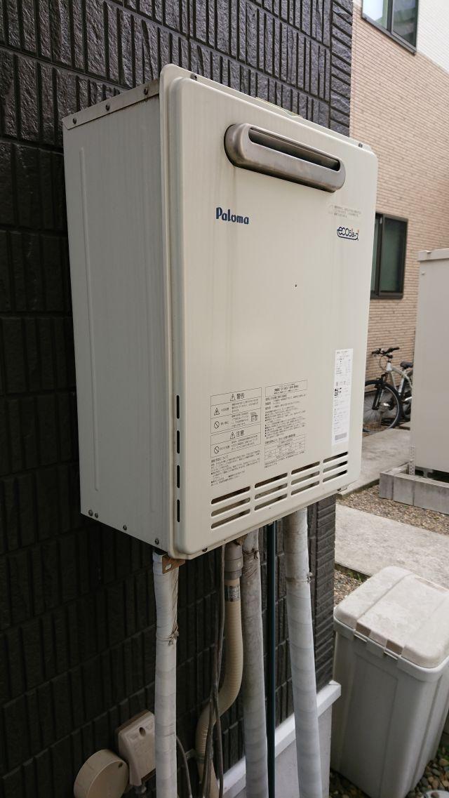 八千代市ゆりのき台-FH-E204AWDL-施工前 給湯器交換
