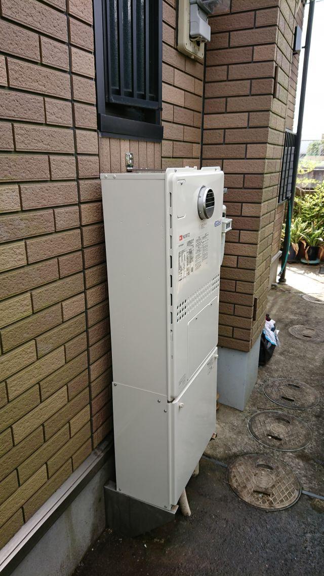 佐倉市表町-GTH-2450AW3H-1 BL-施工後 給湯器交換
