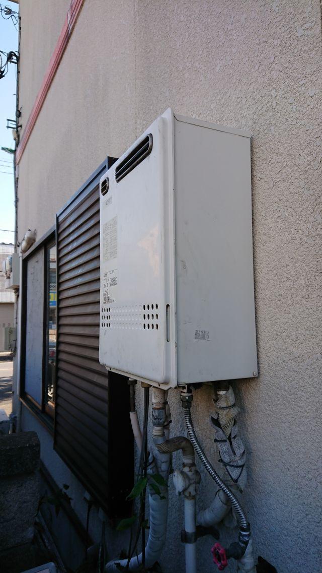 松戸市小金原-GT-2427SAWX-施工前 給湯器交換