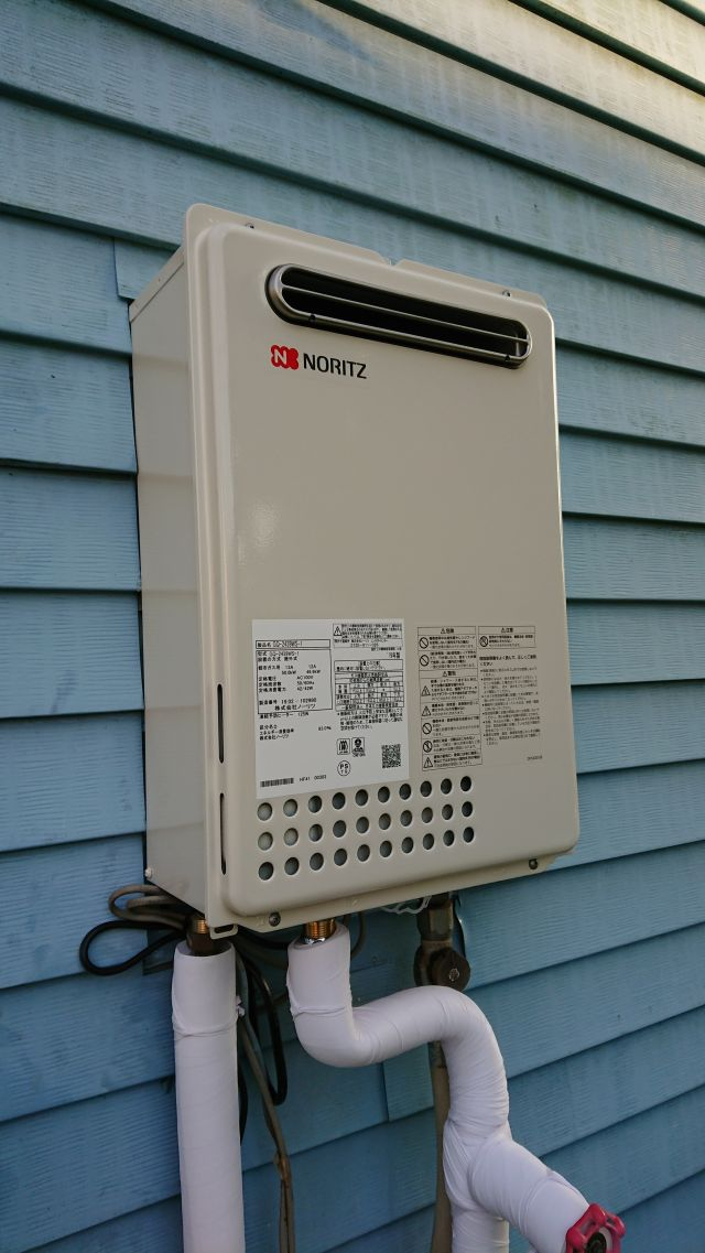 印西市滝野-GQ-2439WS-1 給湯器交換