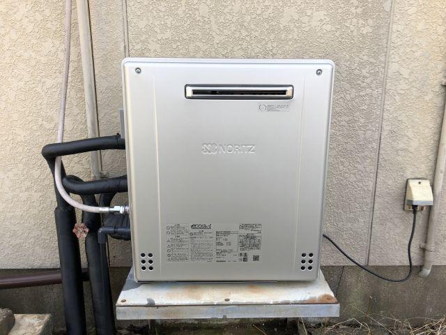 柏市篠籠田-GT-C2062SARX 給湯器交換
