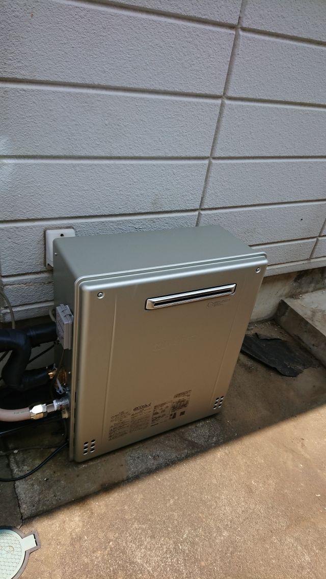白井市池の上-GT-C2062SARX 給湯器交換