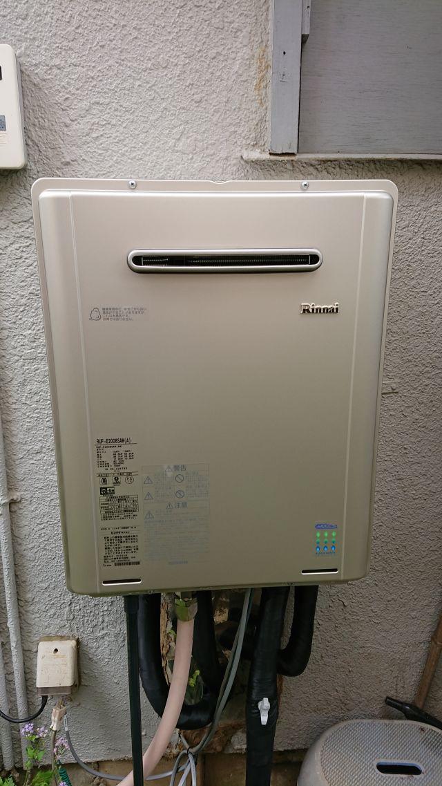白井市大松-RUF-E2008SAW(A) 給湯器交換