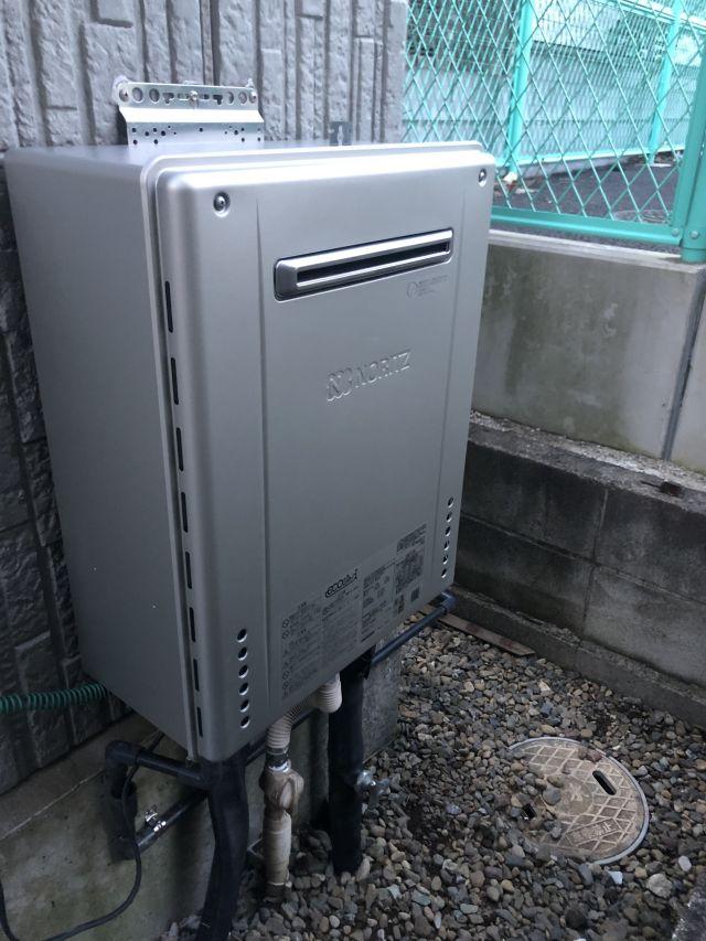 柏市高田-GT-C2462SAWX BL 給湯器交換