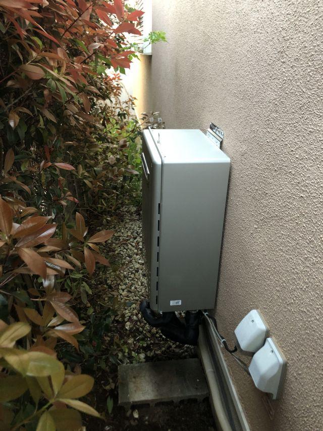 柏市しいの木台-GT-C2462SAWX BL 給湯器交換