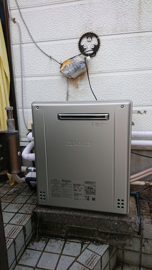 船橋市松が丘-GT-C2462SARX 給湯器交換