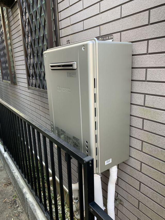 柏市東-GT-C2462SAWX BL-施工後 給湯器交換