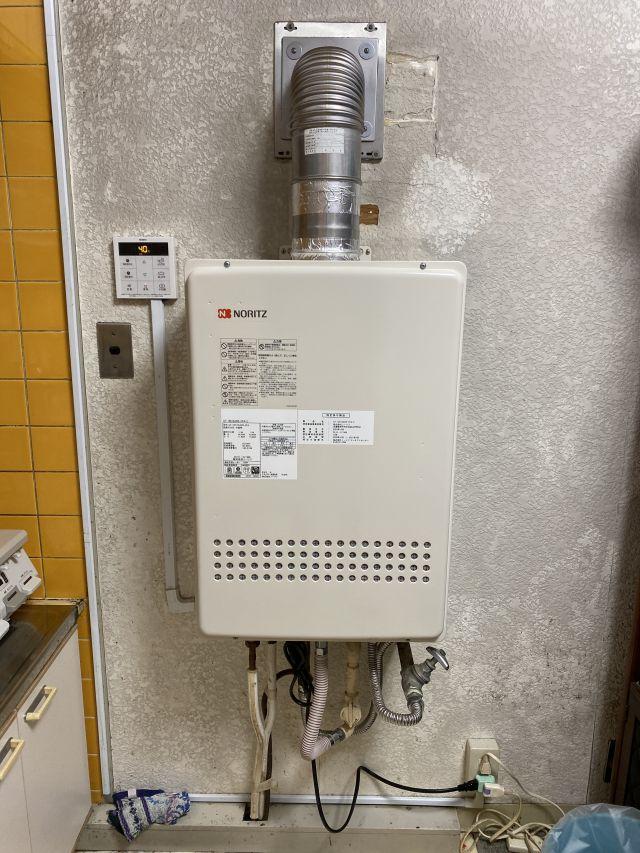 船橋市習志野台-GT-1651SAWX-FFA-2 BL 給湯器交換