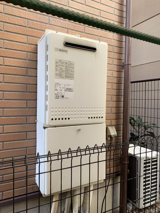 船橋市東中山-GT-2428SAWX-施工前 給湯器交換